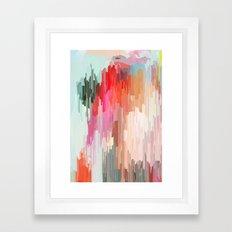 Everything will flow Framed Art Print