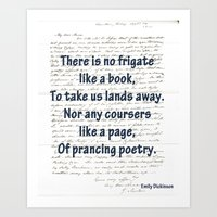 prancing poetry Art Print