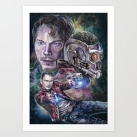 Star Lord - Galaxy Guardian Art Print
