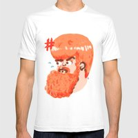 Spartacus Mens Fitted Tee White SMALL