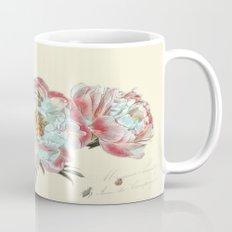 vintage peonies Mug