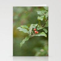 Honeysuckle Berries Stationery Cards