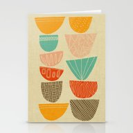 Stacks Stationery Cards
