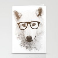 SMART WOLF Stationery Cards