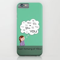 Just Thinking Of You iPhone 6 Slim Case