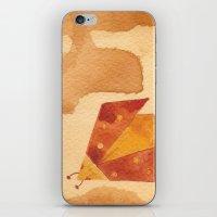 Ladybird Origami 1 iPhone & iPod Skin