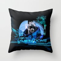 Garrus Vakarian With Sha… Throw Pillow