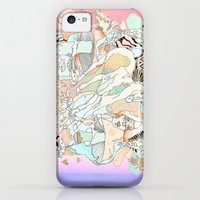 iPhone 5c Cases featuring mushrooms & horses by Cassidy Rae Limbach