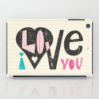 Love Note iPad Case