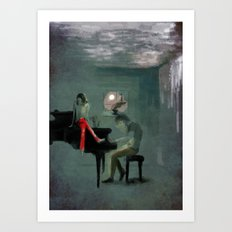 Just for one day Art Print