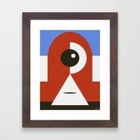 LIBERTE Framed Art Print