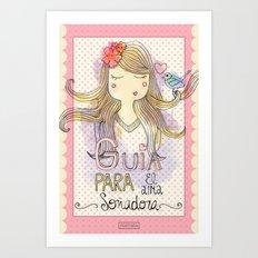Guide for Dreamers / Guía para el alma soñadora Art Print