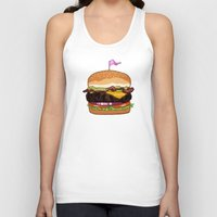 Bacon Cheeseburger Unisex Tank Top