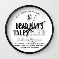 Dead Man's Tales Elixir Wall Clock
