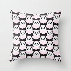 LAZY  PANDA Throw Pillow