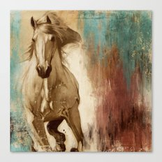 Loyal Steed Canvas Print