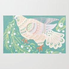 Holiday Dove Rug