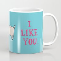 I Like You. Mug