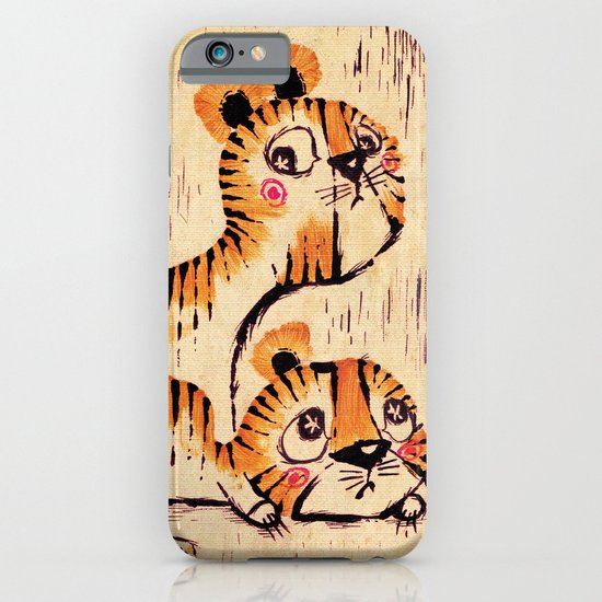 Two Little Tigers  iPhone & iPod Case