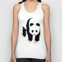 Panda Unisex Tank Top