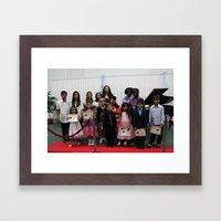 Class Picture Framed Art Print