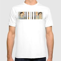 Bleeding Hearts Club Mens Fitted Tee White SMALL