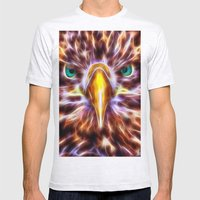 Abedabun - The Sea Eagle Mens Fitted Tee Ash Grey SMALL