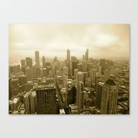 Chicago - View From John… Canvas Print