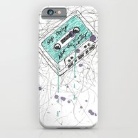 iPhone & iPod Case featuring Stop Crying About The Music Industry by Meagan Harman