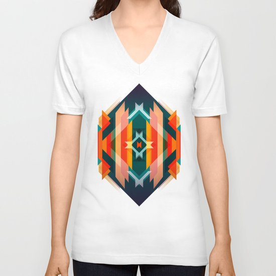 Broken Diamond - Incalescence V-neck T-shirt