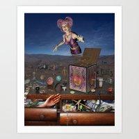 Treasure Chest Art Print
