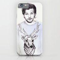 iPhone & iPod Case featuring Louis And His Deer by Coconut Wishes