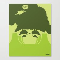 WTF? Super! Canvas Print