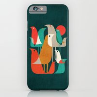 iPhone & iPod Case featuring Flock of Birds by Budi Kwan