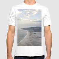 View From Above Mens Fitted Tee White SMALL
