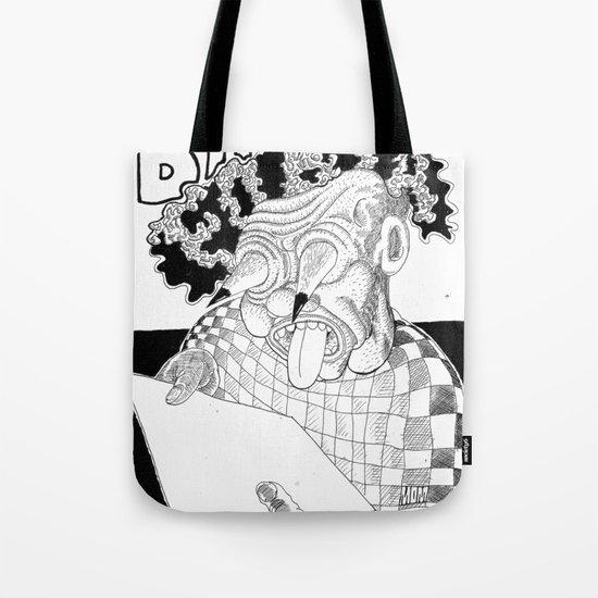 Branco fobia Tote Bag