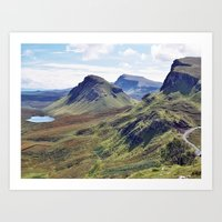 Trotternish Art Print