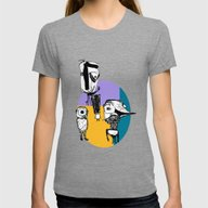Monsters´s Familiy Womens Fitted Tee Tri-Grey X-LARGE