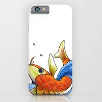iPhone & iPod Case featuring coy by Thousand Lines Ink