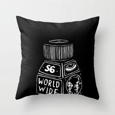 S6 WORLD WIDE!!!! Throw Pillow