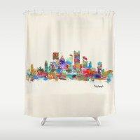 Pittsburgh Pennsylvania … Shower Curtain