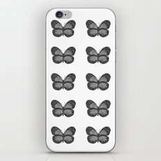 BUTTERFLY3 iPhone & iPod Skin