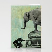 Looking For Tiny, Elepha… Stationery Cards