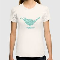 kiwi Womens Fitted Tee Natural SMALL