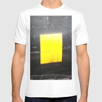 SQUARE Mens Fitted Tee White SMALL