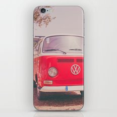Red Ride iPhone & iPod Skin