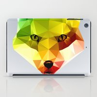 Glass Animal - FOX head iPad Case