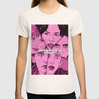 Breakfast Club Womens Fitted Tee Natural SMALL