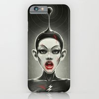iPhone & iPod Case featuring Meow III by Dr. Lukas Brezak