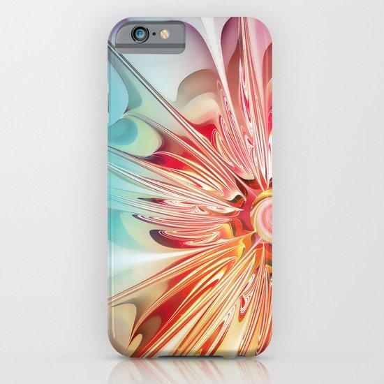 Splendid Fractal Flower iPhone & iPod Case